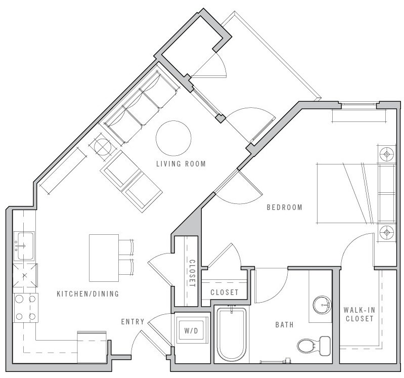 Floor Plans Apartments for Rent in Sunnyvale CA Loft House