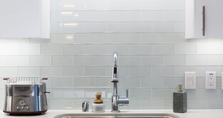 Designer tile kitchen backsplashes
